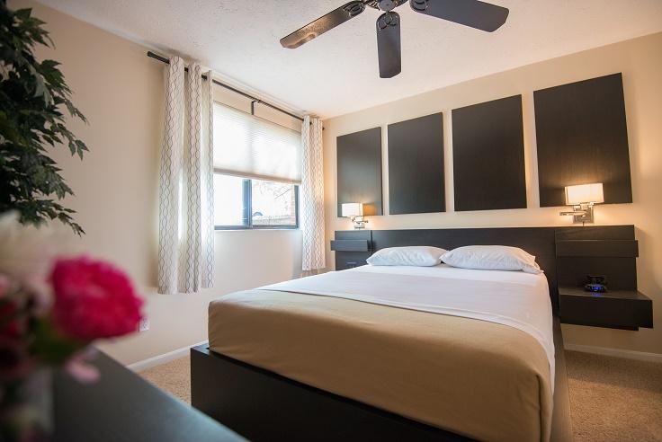 Cincinnati Furnished Apartments Bedroom